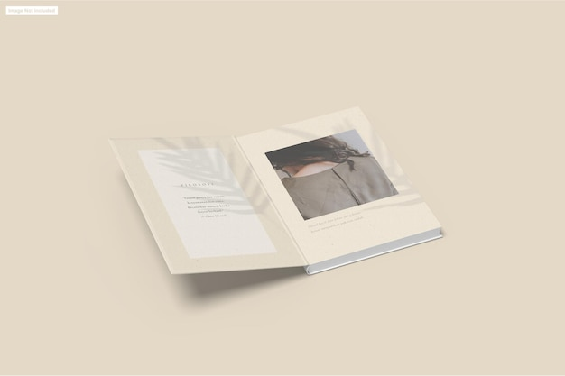 Makieta książki
