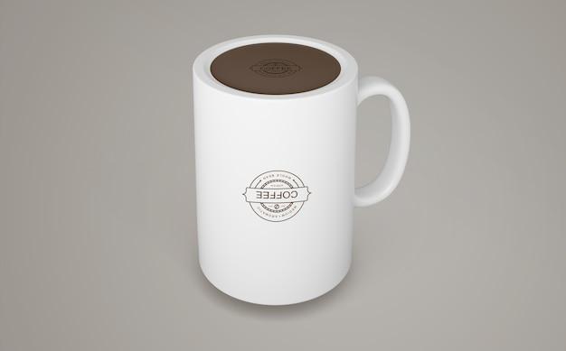 Makieta kubka do kawy do merchandisingu