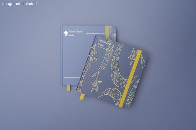 Makieta kwadratowa notebooka
