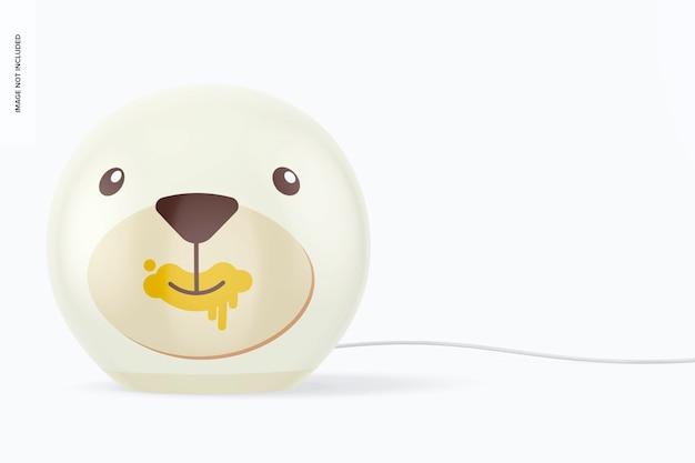 Makieta lampy okrągłej dla dzieci