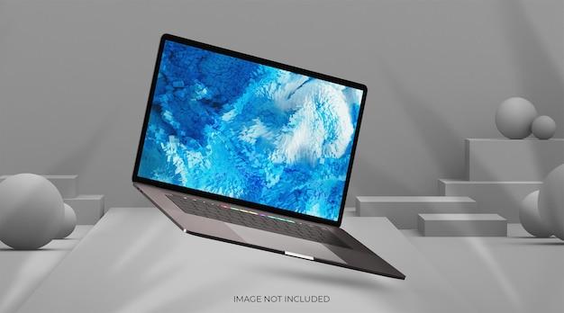 Makieta laptopa do interfejsu internetowego i makiety aplikacji