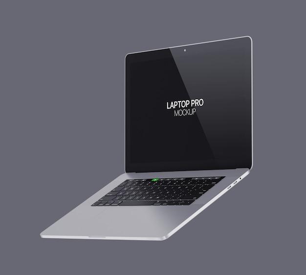 Makieta laptopa laptop