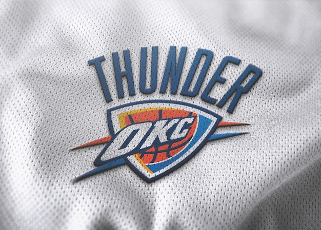 Makieta logo jersey koszykówki