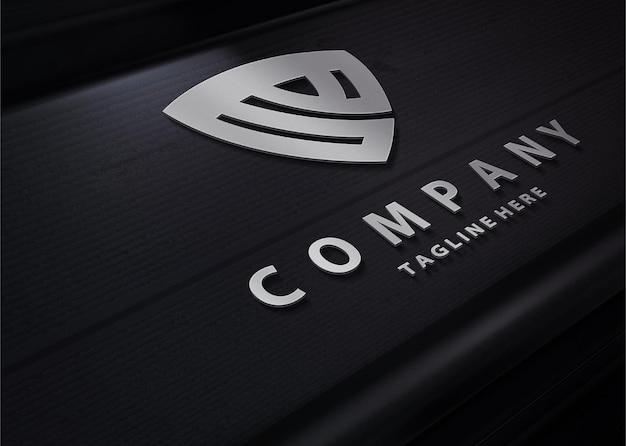 Makieta logo luksusowej technologii