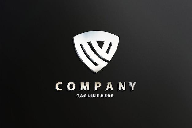 Makieta luksusowego logo