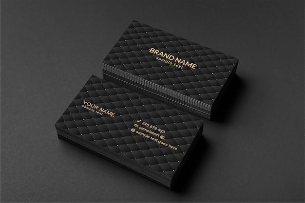 Makieta luksusowej wizytówki