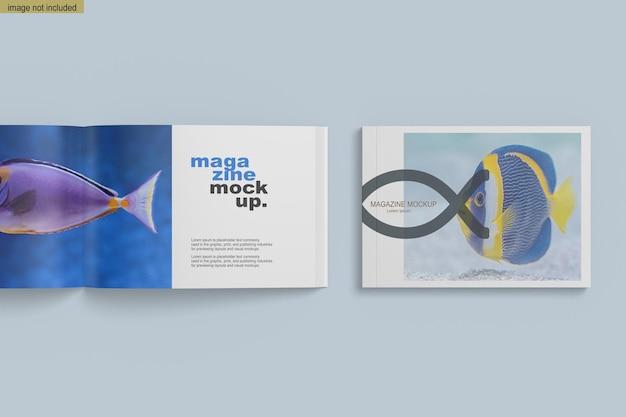 Makieta magazynu a4 w orientacji poziomej