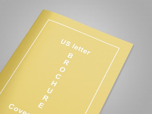 Makieta magazynu / broszury z listem amerykańskim