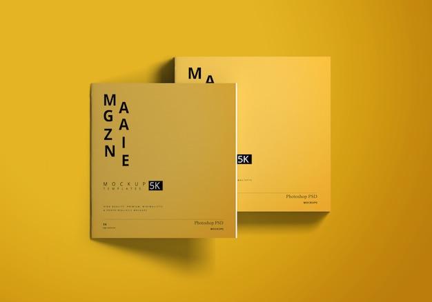 Makieta magazynu kwadratowego