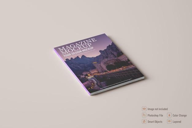 Makieta magazynu na białym tle