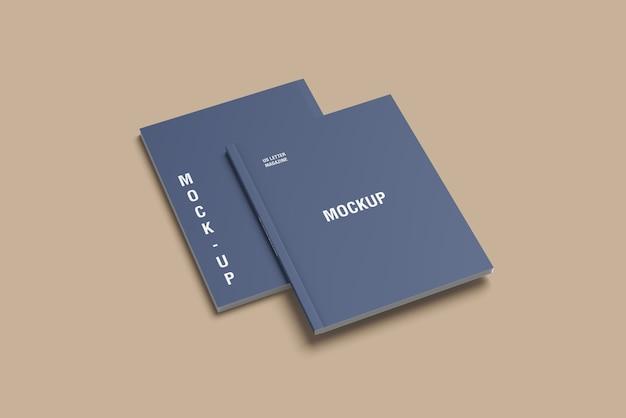 Makieta magazynu przedniej i tylnej okładki