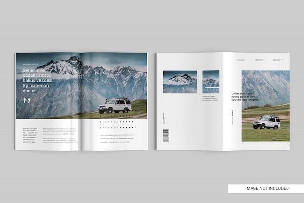 Makieta magazynu widok z góry