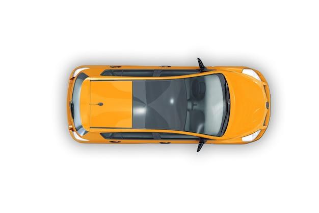 Makieta małego samochodu miejskiego 2012
