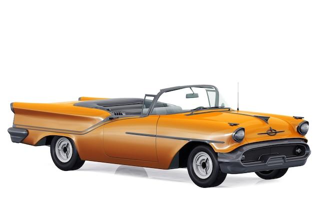 Makieta małego samochodu miejskiego z 1957 roku