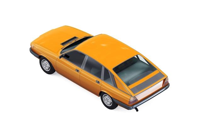 Makieta małego samochodu miejskiego z 1976 roku