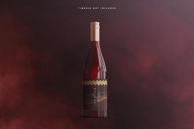 Makieta marki butelki wina