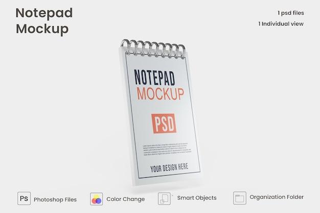 Makieta marki notatnika note