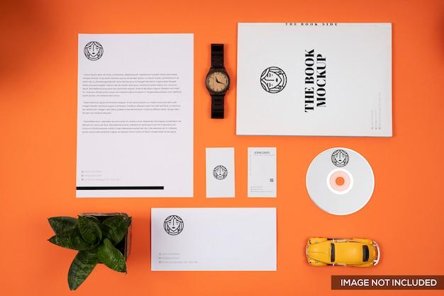 Makieta marki orange