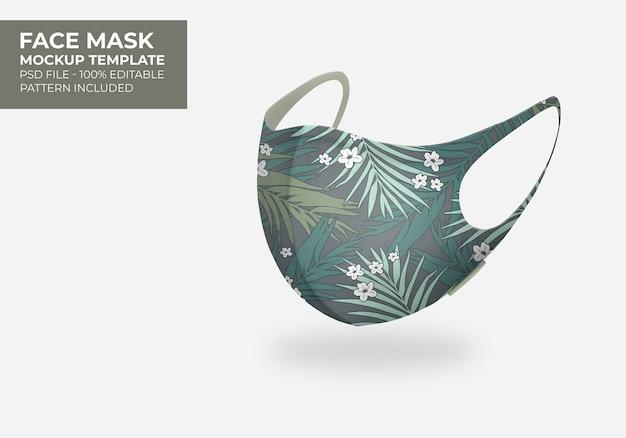 Makieta maski 3d