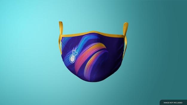 Makieta maski z tkaniny