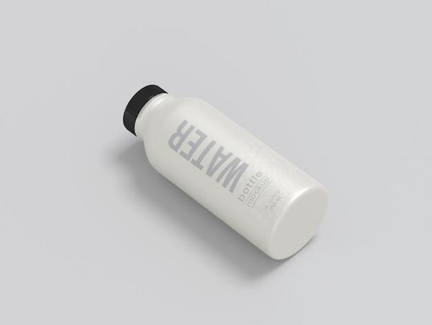 Makieta metalowej butelki