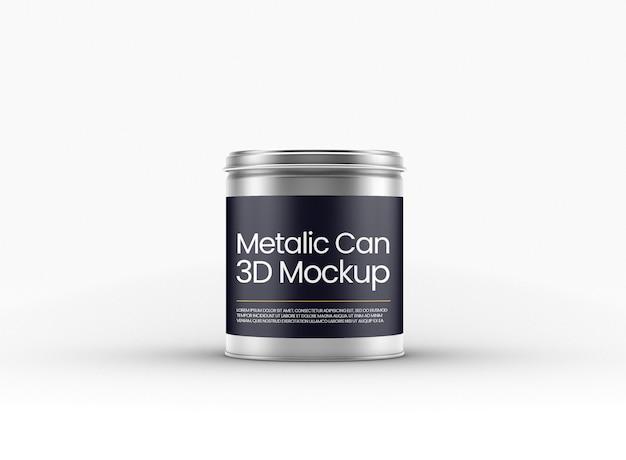 Makieta metalowej puszki