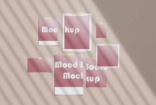 Makieta moodboard