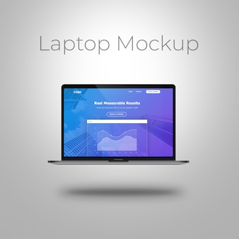 Makieta na laptopa macbook-pro