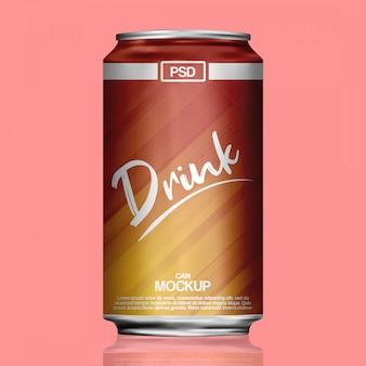 Makieta napojów bezalkoholowych