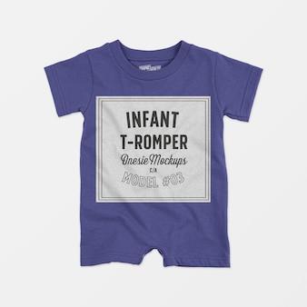 Makieta niemowlęca t-romper 03