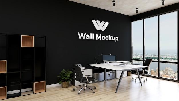 Makieta nowoczesnego biura