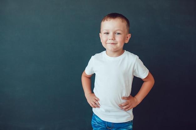 Makieta odzieży dla dzieci tshirt