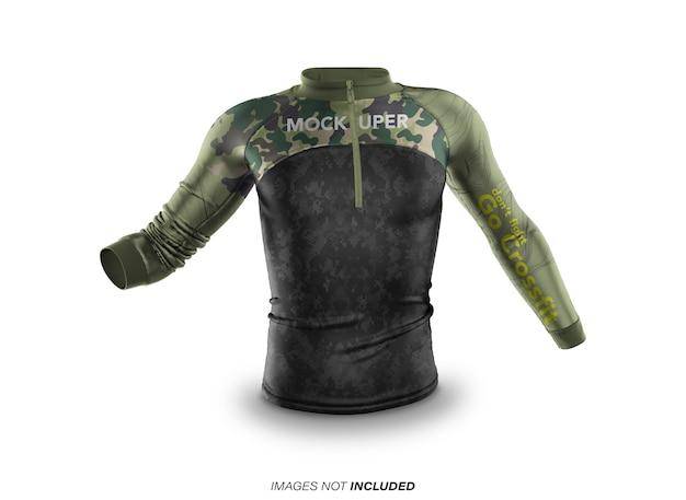 Makieta odzieży sportowej