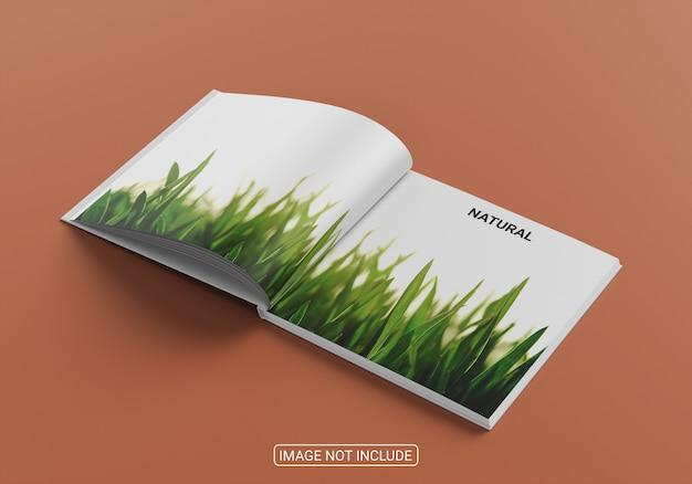 Makieta okładki książki i magazynu