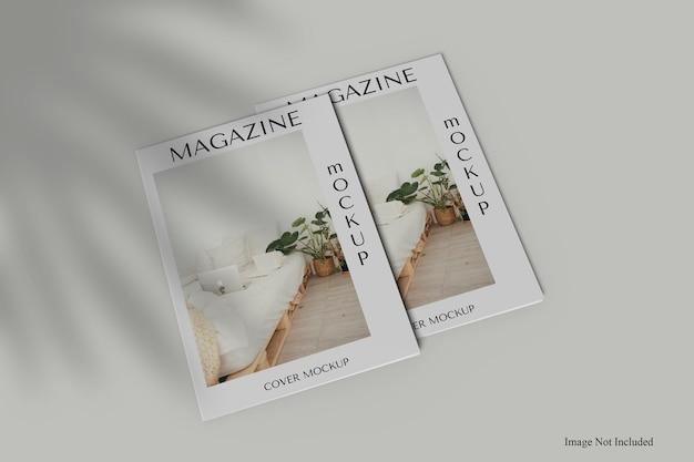 Makieta okładki magazynu a4