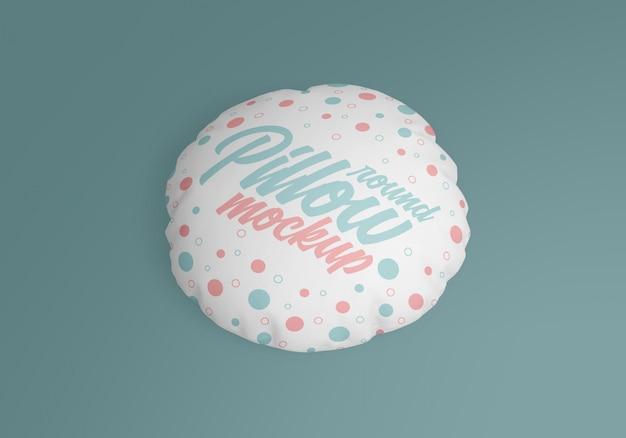 Makieta okrągłej poduszki
