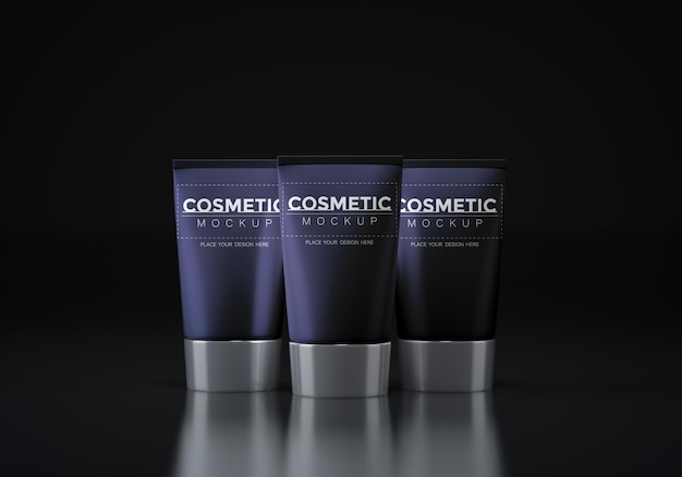 Makieta opakowań kosmetycznych