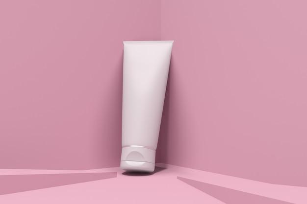Makieta opakowań kosmetyków do pielęgnacji skóry