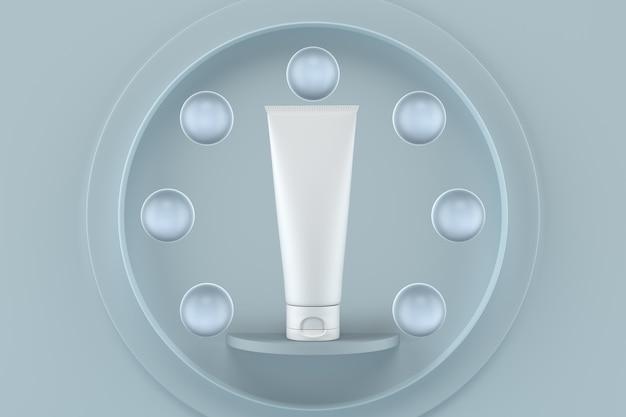 Makieta opakowań kosmetyków w renderowaniu 3d