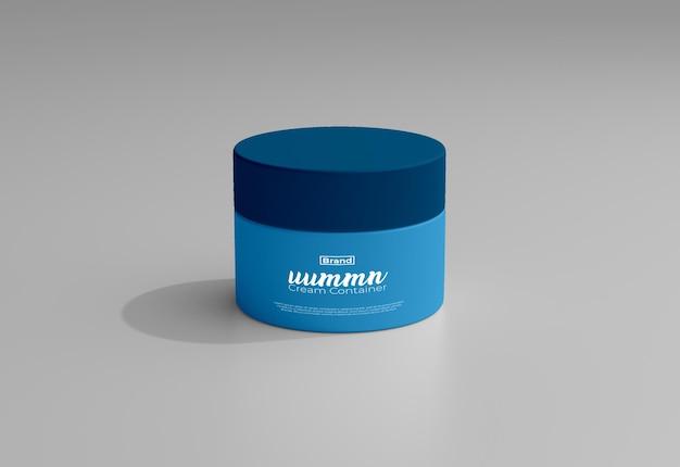 Makieta Opakowań Produktów Kosmetycznych Premium Psd