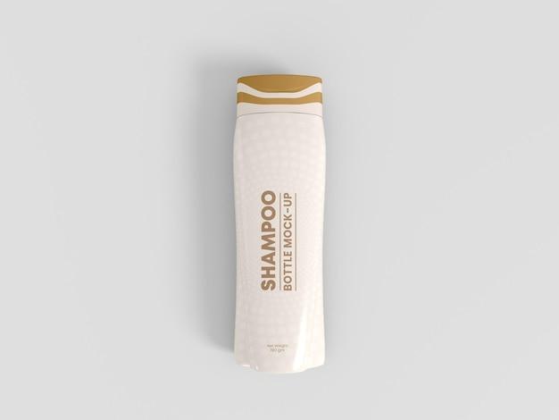 Makieta opakowania butelki szamponu
