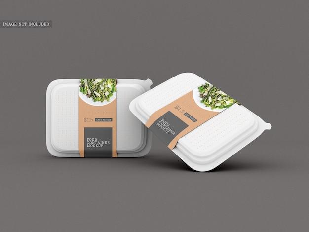 Makieta opakowania na żywność