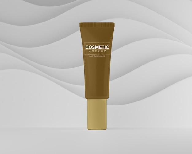 Makieta opakowania produktu kosmetycznego