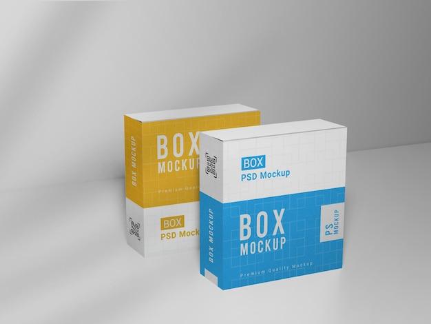 Makieta opakowania pudełek