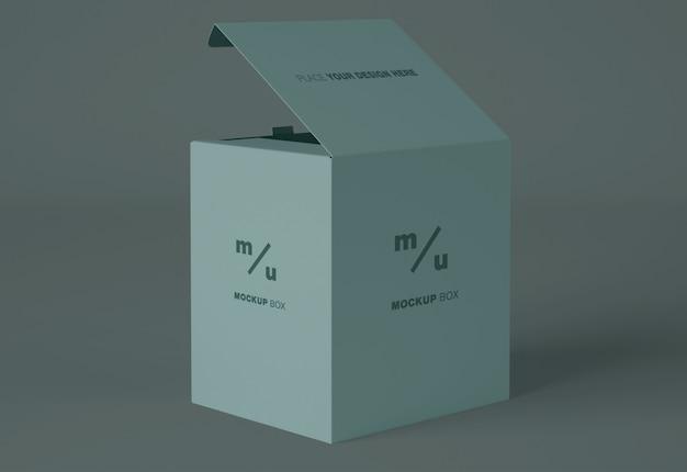 Makieta opakowania pudełkowego