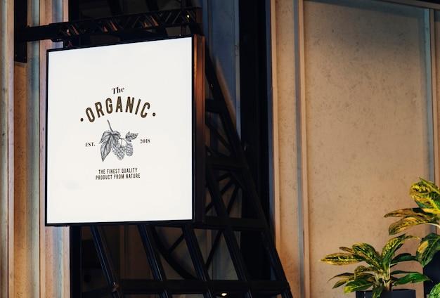Makieta oznakowania logo firmy logo