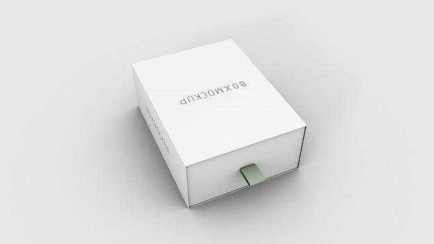 Makieta pakietu pudełkowego 3d