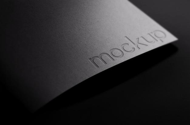 Makieta papeterii okładki folderów