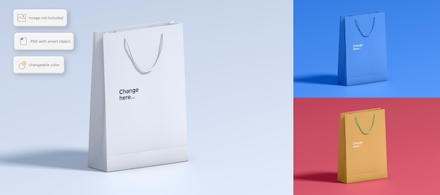 Makieta papierowej torby