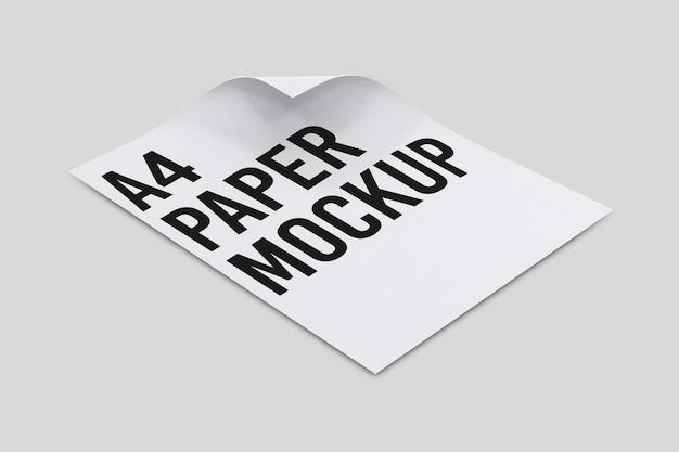 Makieta papieru a4